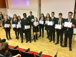 Brilliant Club graduation for our year 9 and 10 scholars.