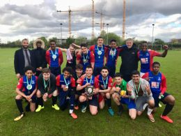 Double Cup football success for Rushcroft !